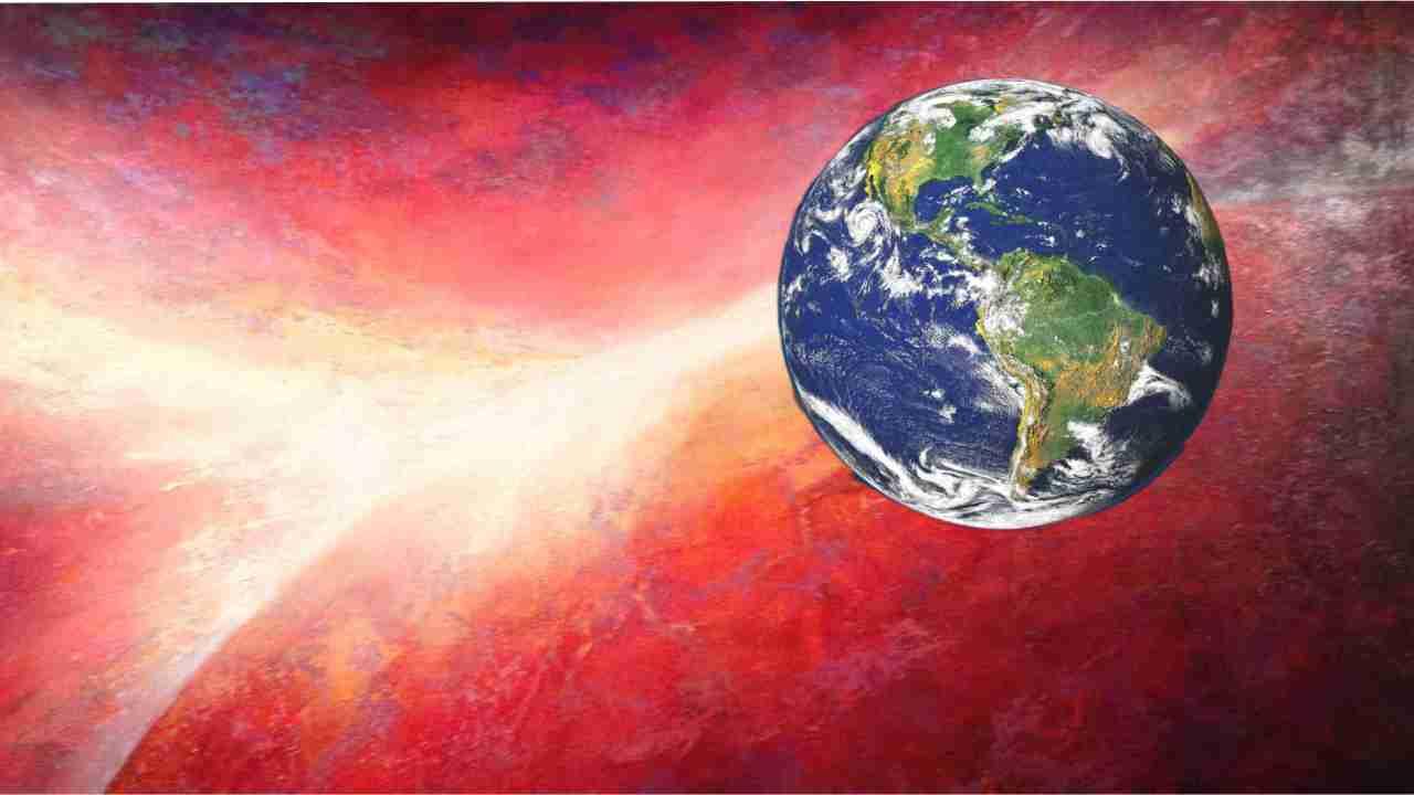 De schepping van de aarde
