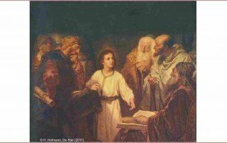Jezus 3 dagen in de tempel
