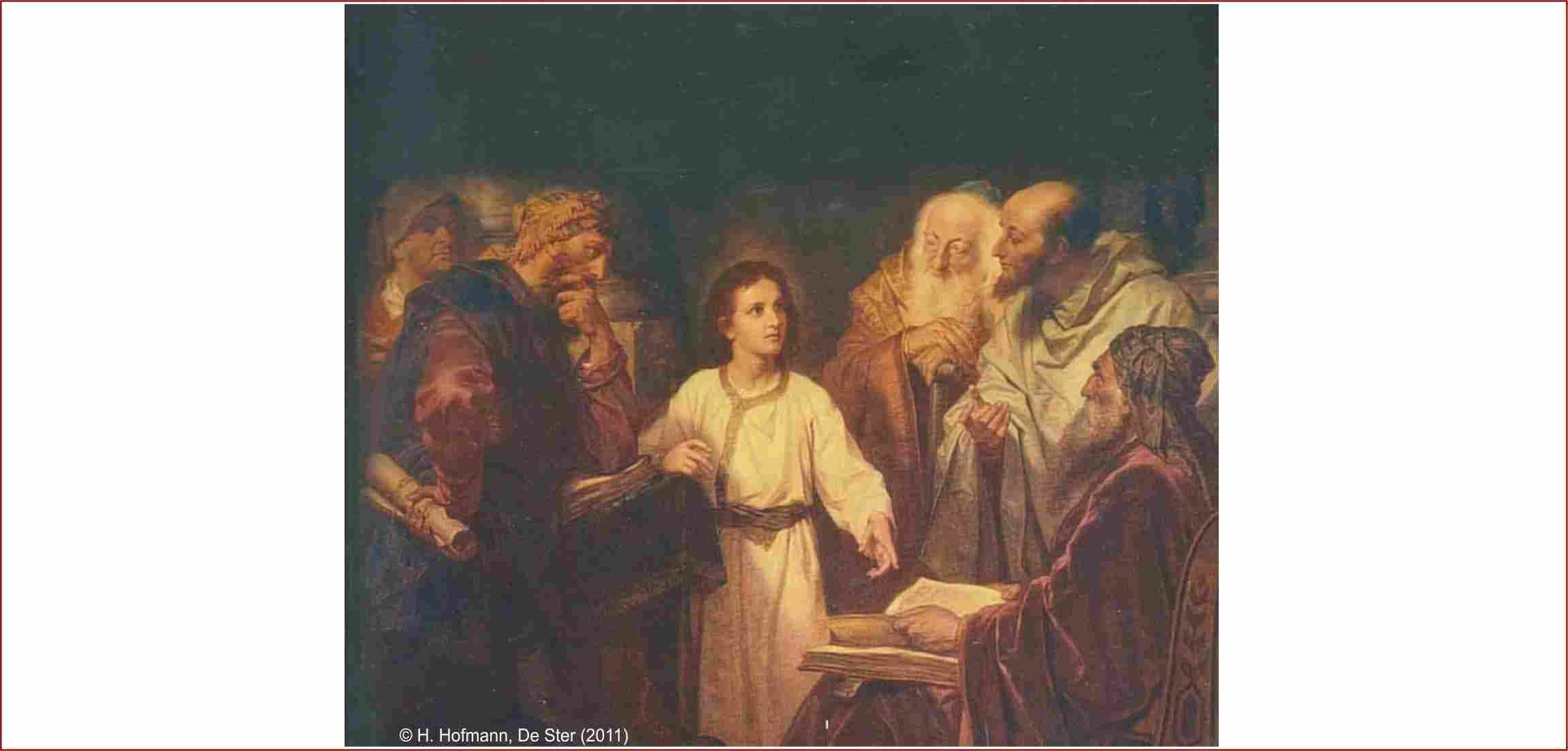 Jezus drie dagen in de tempel