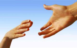 Vreugdevolle hulp aan elkaar
