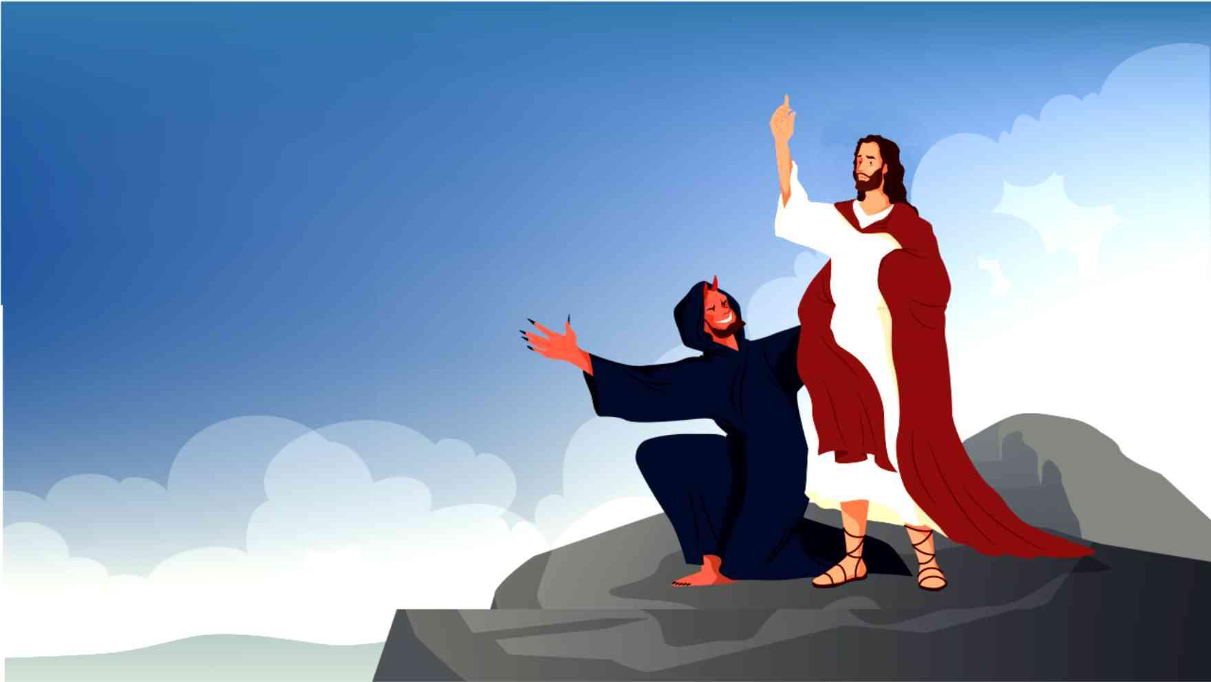 De verzoeking van Jezus